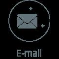 E-mail icono gris